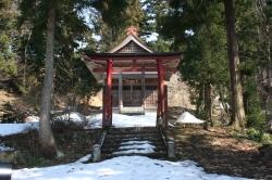Schrein im Niigata-Gebirge